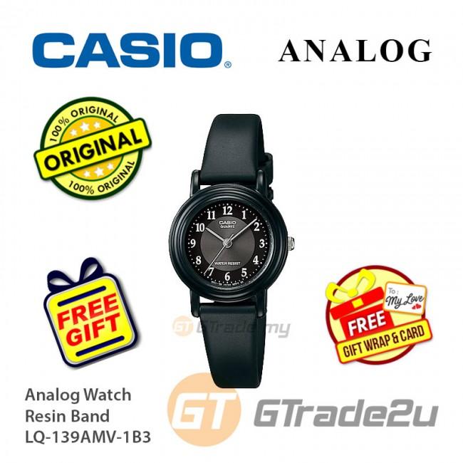 [READY STOCK] CASIO Women Ladies LQ-139AMV-1B3 Analog Watch