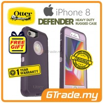 OTTERBOX Defender Belt Clip Holster Case Apple Iphone 8 7 Purple Nebula