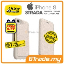 OTTERBOX Strada Folio Premium Leather Case Apple Iphone 8 7 Soft Opal