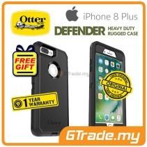 OTTERBOX Defender Belt Clip Holster Case Apple Iphone 8 7 Plus Black *Free Gift
