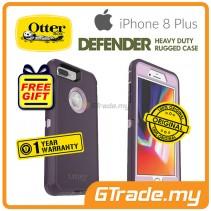 OTTERBOX Defender Belt Clip Holster Case Apple Iphone 8 7 Plus Purple Nebula *Free Gift