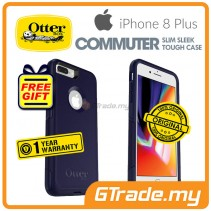 OTTERBOX Commuter Dual Layer Tough Case Apple Iphone 8 7 Plus Indigo Way *Free Gift