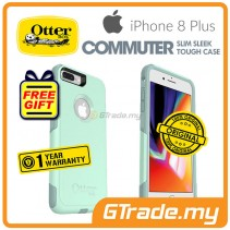 OTTERBOX Commuter Dual Layer Tough Case Apple Iphone 8 7 Plus Ocean Way *Free Gift