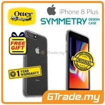 OTTERBOX Symmetry Clear Slim Stylish Case Apple Iphone 8 7 Plus Stardust *Free Gift