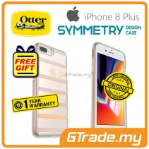 OTTERBOX Symmetry Clear Slim Stylish Case Apple Iphone 8 7 Plus Inside The Lines *Free Gift