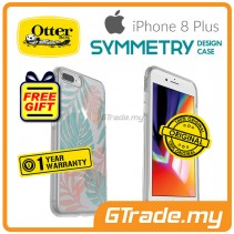 OTTERBOX Symmetry Clear Slim Stylish Case Apple Iphone 8 7 Plus Easy Breezy *Free Gift