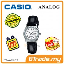 CASIO STANDARD LTP-V006L-7BV Analog Ladies Watch | Leather Day Date