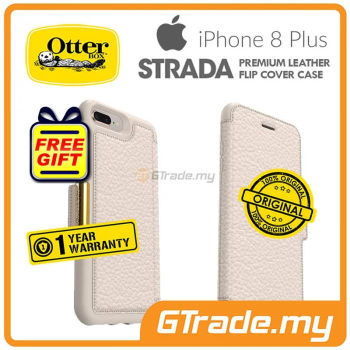 finest selection 67bd7 ac940 OTTERBOX Strada Folio Premium Leather Case Apple Iphone 8 7 Plus ...