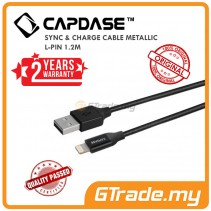 CAPDASE Sync & Charge Lightning USB Cable Metallic L-pin