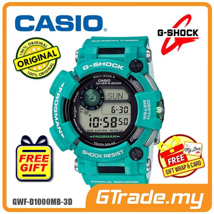 CASIO FROGMAN GWF-D1000MB-3D Men Digital Watch