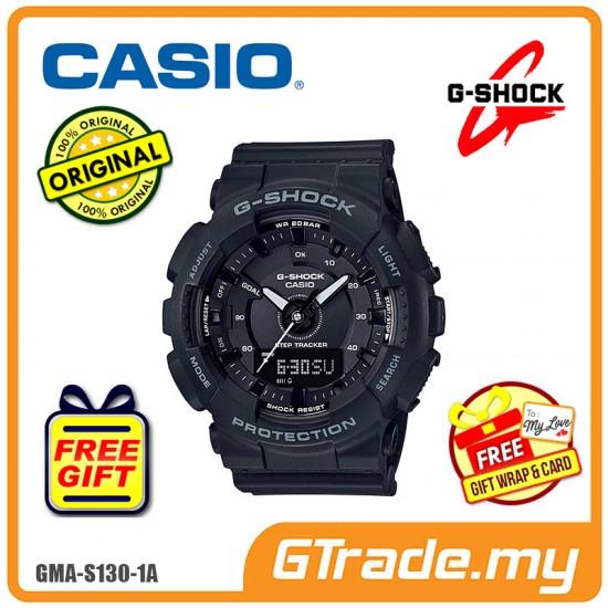 CASIO G-SHOCK GMA-S130-1A Ladies Analog Digital Watch | Step Tracker
