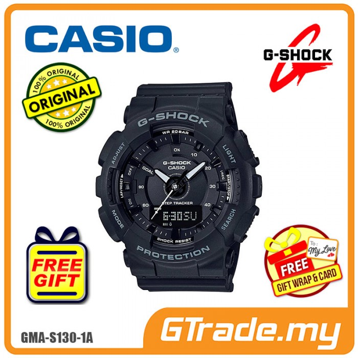 676057220dea CASIO G-SHOCK GMA-S130-1A Ladies Analog Digital Watch