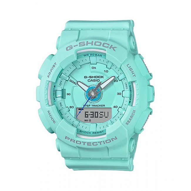 CASIO G-SHOCK GMA-S130-2A Ladies Analog Digital Watch | Step Tracker