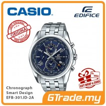 CASIO EDIFICE EFB-301JD-2A Chronograph Watch | Smart Design