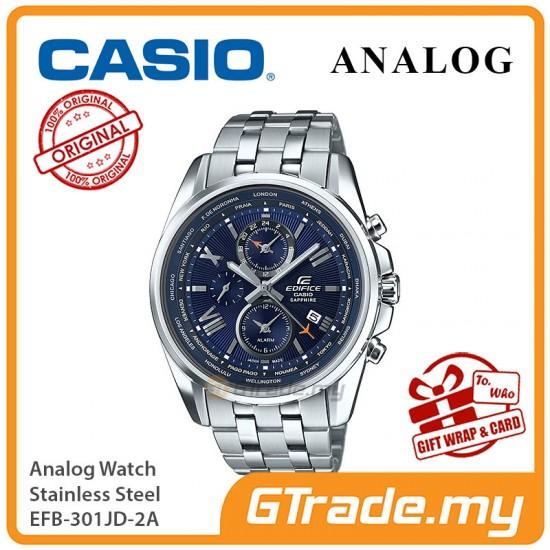 CASIO MEN EFB-301JD-2A Analog Watch   Sapphire Crystal