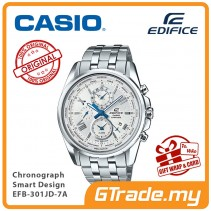 CASIO EDIFICE EFB-301JD-7A Chronograph Watch | Smart Design