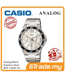 CASIO MEN MTP-1300D-7A Analog Watch | Multi Hand 3-Dial Design
