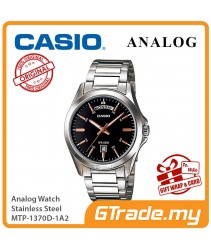 CASIO MEN MTP-1370D-1A2 Analog Watch | Date Display Simple Easy