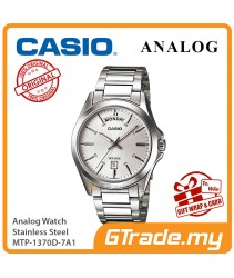 CASIO MEN MTP-1370D-7A1 Analog Watch | Date Display Simple Easy