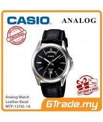 CASIO MEN MTP-1370L-1A Analog Watch | Date Display Simple Easy