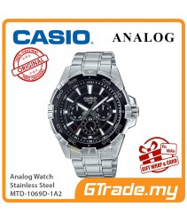 CASIO MEN MTD-1069D-1A2 Analog Watch | Cool Diver Look Hefty Design