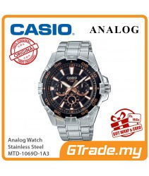 CASIO MEN MTD-1069D-1A3 Analog Watch | Cool Diver Look Hefty Design