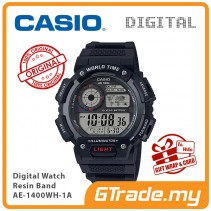 CASIO MEN AE-1400WH-1A Digital Watch | World Map