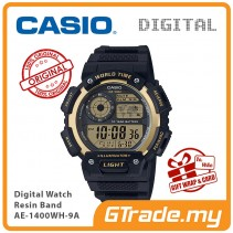 CASIO MEN AE-1400WH-9A Digital Watch | World Map