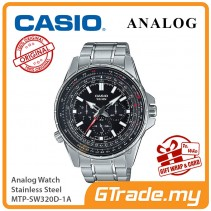 CASIO MEN MTP-SW320D-1A Analog Watch | Smart Design