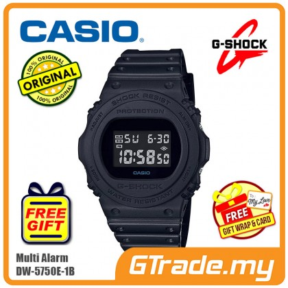 CASIO G-SHOCK DW-5750E-1B Men Digital Watch | Multi Alarm [PRE]