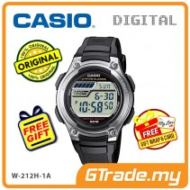 CASIO MEN W-212H-1A Digital Watch | 5 Multi Alarms [PRE]