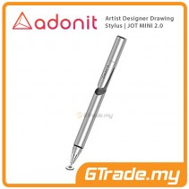 ADONIT Jot Mini 2 Designer Drawing Stylus Pen Silver
