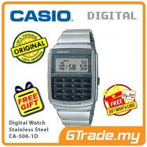 CASIO MEN CA-506-1D Digital Watch | Dual Time [PRE]