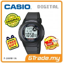CASIO STANDARD F-200W-1A Digital Watch | Classic Simple Young Design