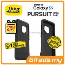 OTTERBOX Pursuit Thin Stylish Tough Case Samsung Galaxy S9 Black *Free Gift