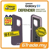 OTTERBOX Defender Belt Clip Holster Case Samsung Galaxy S9 Purple Nebula *Free Gift