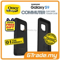 OTTERBOX Commuter Dual Layer Tough Case Samsung Galaxy S9 Black *Free Gift