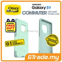 OTTERBOX Commuter Dual Layer Tough Case Samsung Galaxy S9 Ocean Way Blue *Free Gift