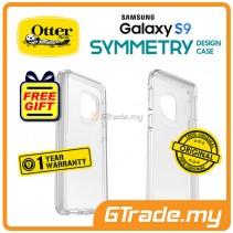 OTTERBOX Symmetry Clear Slim Stylish Case Samsung Galaxy S9 Clear *Free Gift