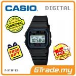 [READY STOCK] CASIO STANDARD F-91W-1S Digital Watch | Classic Since 1991 Calendar