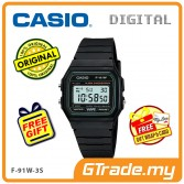 [READY STOCK] CASIO STANDARD F-91W-3S Digital Watch | Classic Since 1991 Calendar
