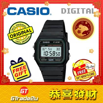 [READY STOCK] CASIO STANDARD F-91W-3S Digital Watch | Classic Since 1991 Calendar