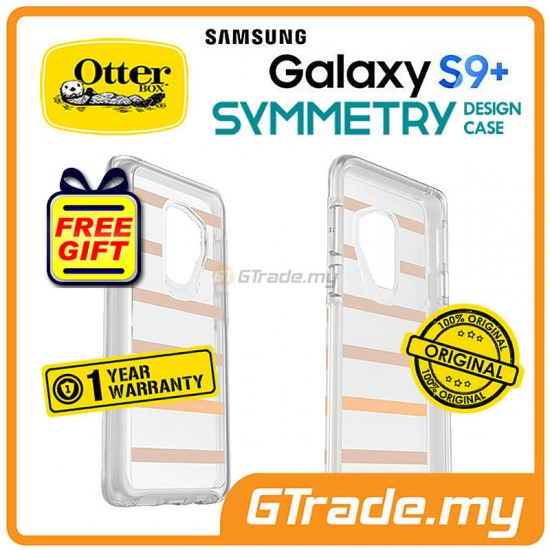 OTTERBOX Symmetry Clear Slim Stylish Case Samsung Galaxy S9 Plus Inside The Line