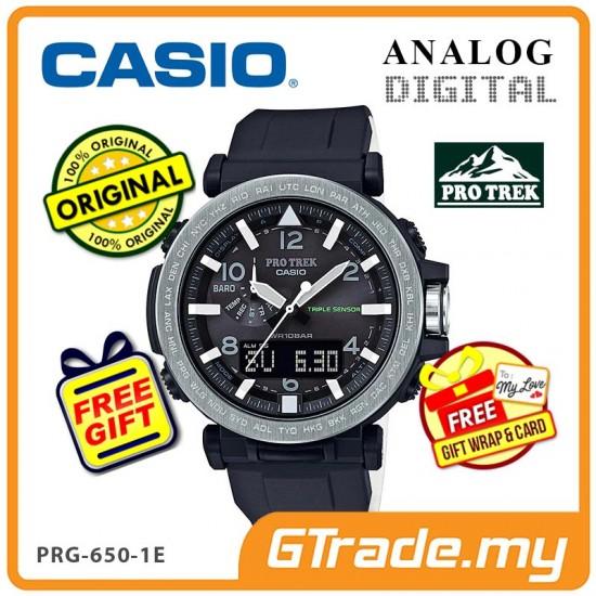 CASIO PRO TREK PRG-650-1E Analog Digital | Triple Sensor