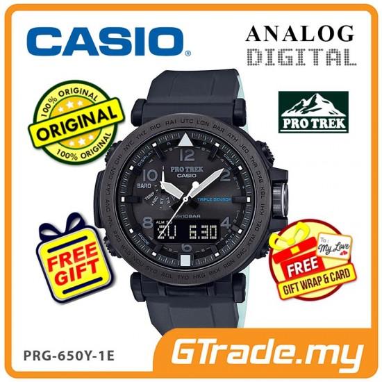 CASIO PRO TREK PRG-650Y-1E Analog Digital | Triple Sensor