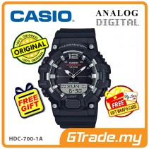 [READY STOCK] CASIO MEN HDC-700-1A Analog Digital Watch | 10-Year Battery
