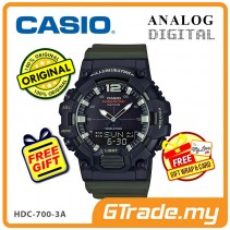 [READY STOCK] CASIO MEN HDC-700-3A Analog Digital Watch | 10-Year Battery