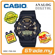 [READY STOCK] CASIO MEN HDC-700-9A Analog Digital Watch | 10-Year Battery