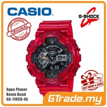 CASIO G-SHOCK AQUA PLANET GA-110CR-4A Analog Digital Watch