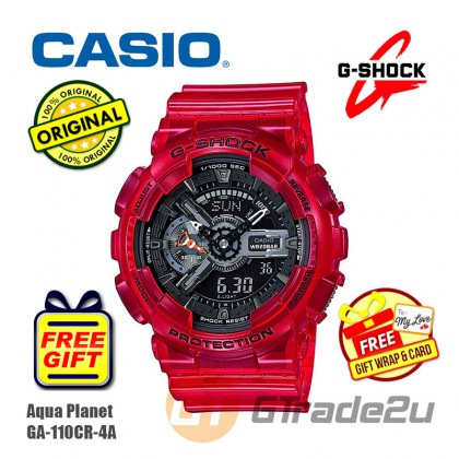CASIO G-SHOCK AQUA PLANET GA-110CR-4A Analog Digital Watch [PRE]